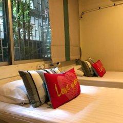 I-Sleep Silom Hostel Стандартный номер с 2 отдельными кроватями (общая ванная комната)