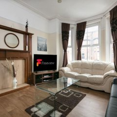 Отель Chorlton Short Term South Manchester Townhouse комната для гостей фото 5
