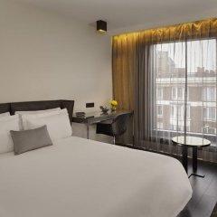Отель Park Plaza London Waterloo Улучшенный номер с различными типами кроватей фото 4