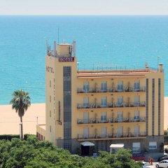 Отель Rocatel Испания, Канет-де-Мар - отзывы, цены и фото номеров - забронировать отель Rocatel онлайн пляж