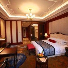 Shanghai Donghu Hotel 4* Улучшенный номер двуспальная кровать фото 3