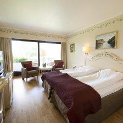 Отель Hotell Refsnes Gods 4* Улучшенный номер с 2 отдельными кроватями