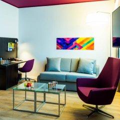 Отель Park Inn Central Tallinn 4* Люкс с различными типами кроватей фото 5