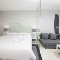 Отель Pension T5 Donostia Suites Улучшенный номер с различными типами кроватей фото 9