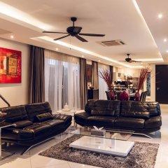 Отель Villas In Pattaya 5* Стандартный номер с различными типами кроватей фото 5