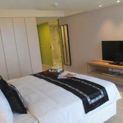 Отель Citadines Central Xi'an Представительский номер с различными типами кроватей фото 8