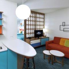 Отель Universals Cabana Bay Beach Resort 3* Стандартный номер с различными типами кроватей фото 6