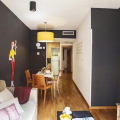 Апартаменты AinB Eixample-Entenza Apartments Апартаменты с различными типами кроватей фото 11