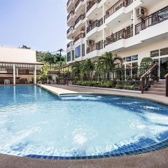 Апартаменты Pratumnak Hill Apartment 2 Bedroom Паттайя бассейн
