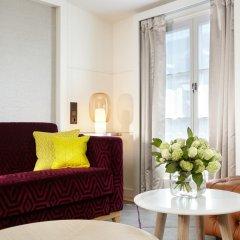Отель Hôtel Opéra Richepanse 4* Люкс с различными типами кроватей фото 15