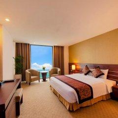 Muong Thanh Grand Nha Trang Hotel 4* Номер Делюкс с различными типами кроватей фото 4