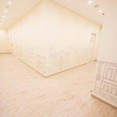 Волхонка хостел Кровать в общем номере с двухъярусными кроватями фото 13