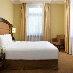 Гостиница Hilton Москва Ленинградская 5* Представительский номер с различными типами кроватей фото 13