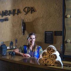 Отель Bambara Hotel Premium Венгрия, Силвашварад - отзывы, цены и фото номеров - забронировать отель Bambara Hotel Premium онлайн интерьер отеля фото 3