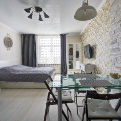 Апартаменты на Егорова Студия с различными типами кроватей фото 23