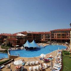 Отель Bulgarienhus Panorama Dreams Свети Влас бассейн