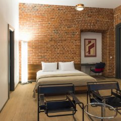 Дизайн-отель Brick 4* Люкс с различными типами кроватей фото 22