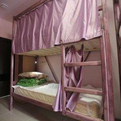 """хостел """"Зонт и шляпа"""" Кровать в общем номере с двухъярусной кроватью фото 2"""