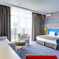 Гостиница Старт Номер Премиум двуспальная кровать фото 6