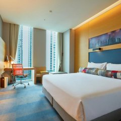 Отель Aloft Seoul Gangnam 4* Стандартный номер с различными типами кроватей фото 6