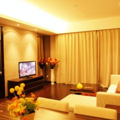 Отель Guangzhou HipHop Apartment Poly World Trade Branch Китай, Гуанчжоу - отзывы, цены и фото номеров - забронировать отель Guangzhou HipHop Apartment Poly World Trade Branch онлайн интерьер отеля фото 2