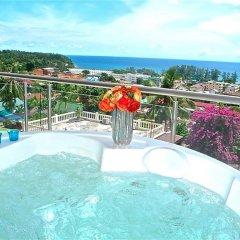 Отель Sunset Plaza Karon 2 bedrooms Nice Sea View бассейн фото 3