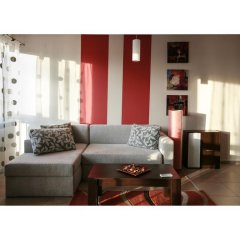 Апартаменты Madrid Apartments Cherkovna комната для гостей