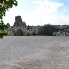 Отель Kapadokya Karşı Bağ Camping Ургуп парковка
