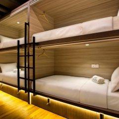 Capsule Pod Boutique Hostel Кровать в общем номере фото 9