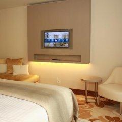Отель Occidental Lisboa 4* Улучшенный номер с различными типами кроватей фото 2