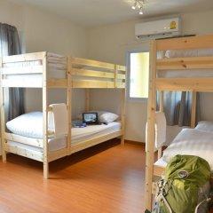 PanPan Hostel Bangkok Кровать в общем номере фото 3