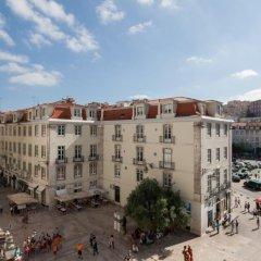 Отель Feels Like Home Rossio Prime Suites Лиссабон балкон