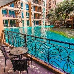 Отель Atlantis Condo Jomtien Pattaya By New Паттайя балкон