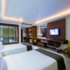 Отель Thanthip Beach Resort 3* Номер Делюкс с двуспальной кроватью фото 3