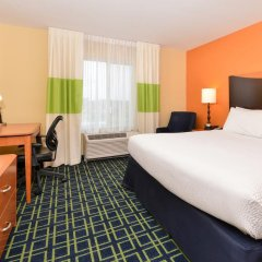 Отель Fairfield Inn And Suites By Marriott Columbus West 3* Стандартный номер фото 3