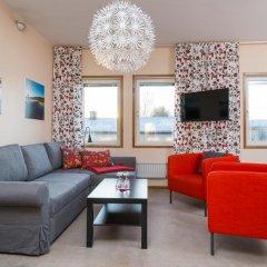 Отель Hotell Fridhemsgatan 3* Стандартный семейный номер с различными типами кроватей фото 5