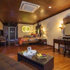 Отель Tropica Bungalow Resort 3* Семейный номер Делюкс с двуспальной кроватью фото 13