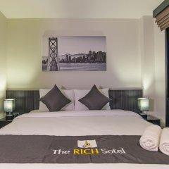 Отель The Rich Sotel 3* Стандартный номер с различными типами кроватей фото 4