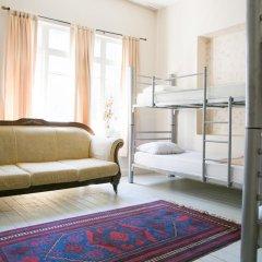 Levanten Hostel Кровать в общем номере двухъярусные кровати фото 6