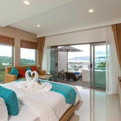 Отель Patong Bay Hill Resort 4* Люкс с двуспальной кроватью фото 7
