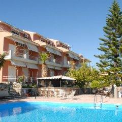 Отель Stefanos Place Греция, Корфу - отзывы, цены и фото номеров - забронировать отель Stefanos Place онлайн бассейн фото 3
