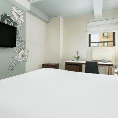 Отель Affinia Manhattan 4* Стандартный номер с различными типами кроватей фото 2