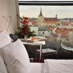 Design Metropol Hotel Prague 4* Улучшенный номер с различными типами кроватей фото 5