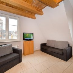 Отель Apartamenty Zacisze Апартаменты с различными типами кроватей фото 23