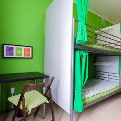 Хостел Wiki Кровать в общем номере с двухъярусной кроватью фото 6