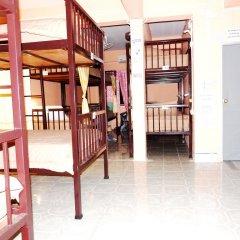 Jinda Hostel Кровать в общем номере с двухъярусной кроватью фото 13