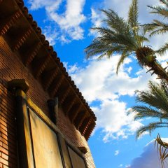 Отель Ecolodge Bab El Oued Maroc Oasis балкон