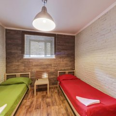 Хостел Кукуруза Номер Эконом с разными типами кроватей (общая ванная комната) фото 16