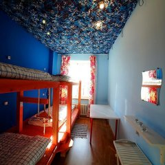 Хостел Ура рядом с Казанским Собором Кровать в мужском общем номере с двухъярусной кроватью фото 8