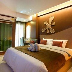 SF Biz Hotel 3* Номер Делюкс с различными типами кроватей фото 13